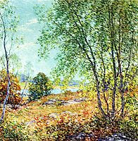 Passing Summer, 1916, metcalf