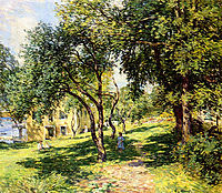The Path, 1915, metcalf