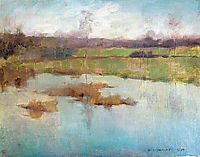 Pond Giverny, 1884, metcalf