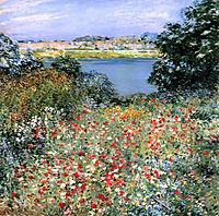 Poppy Garden, 1905, metcalf