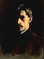 Self-Portrait, 1890, metcalf