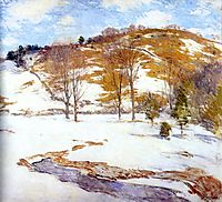 Snow in the Foothills, c.1925, metcalf