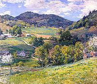 Spring in the Valley, 1924, metcalf