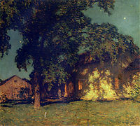 Summer Night (No. 2), 1914, metcalf