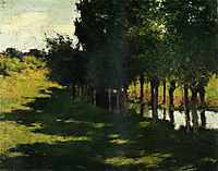 Sunlight and Shadow, 1888, metcalf