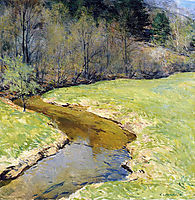 The Sunny Brook, Chester, Vermont, 1923, metcalf