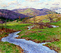 Swollen Brook (No. 2), 1923, metcalf