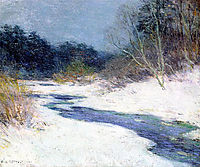 Thawing Brook, 1921, metcalf