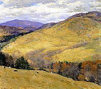 Vermont Hills, November, 1923, metcalf