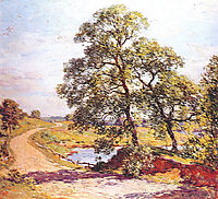 The Winding Road, 1906, metcalf