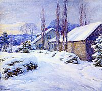 Winter Afternoon, 1917, metcalf