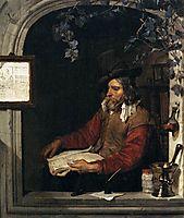 The Apothecary (The Chemist), c.1661, metsu