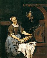 The Cook, c.1667, metsu