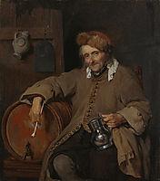 The Old Drinker, c.1658, metsu