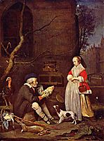 The Poultry Seller, 1662, metsu