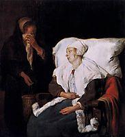 The Sick Girl, 1659, metsu