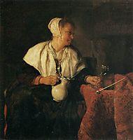 The Tippler (The Wine Drinker), 1657, metsu