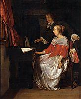 The Virginal Player, c.1661, metsu