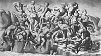 Battle of Cascina, part, 1505, michelangelo