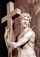 Christ Carrying the Cross: detail: 1, 1521, michelangelo