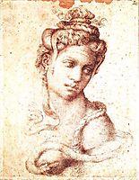 Cleopatra, 1533-1534, michelangelo