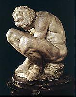 Crouching Boy, 1530-1533, michelangelo