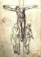 Crucifix, 1556, michelangelo