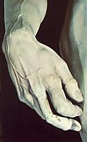 David: detail, 1504, michelangelo