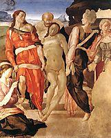 Entombment, 1510, michelangelo