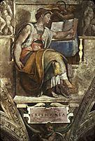 The Erithrean Sibyl, michelangelo