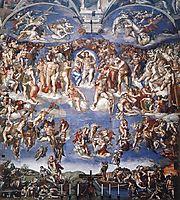 The Last Judgement, 1541, michelangelo