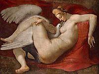 Leda and the Swan, c.1520, michelangelo