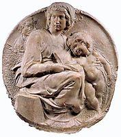 Madonna, Tondo Pitti, 1504-1505, michelangelo