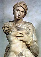Medici Madonna: detail: 2, 1521-1531, michelangelo