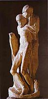 Pieta Rondanini (unfinished), 1564, michelangelo