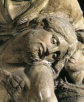 Pieta: detail: 2, 1550, michelangelo