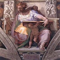 The Prophet Daniel, 1511, michelangelo
