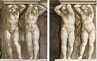 Putti, 1511, michelangelo