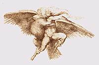 The Rape of Ganymede, 1533, michelangelo