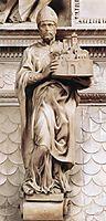 St Petronius, 1494, michelangelo