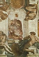 The Separation of the Waters, michelangelo