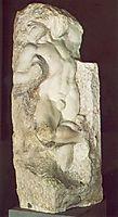 Slave, awakening, 1519-1536, michelangelo