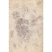 Studies for , c.1534, michelangelo