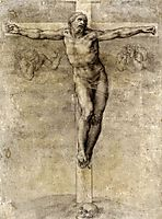 Study to , 1541, michelangelo