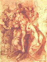 Study to , michelangelo