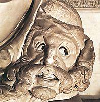 Tomb of Giuliano de- Medici: Night: detail: 1, 1526-1533, michelangelo