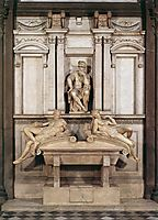 Tomb of Lorenzo de Medici, 1524-1531, michelangelo
