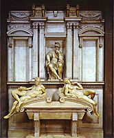Tomb of Lorenzo de Medici, 1531, michelangelo