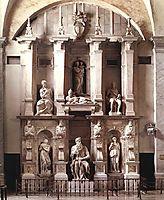Tomb of Pope Julius II, 1545, michelangelo