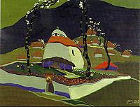 The Maglizh monastery, 1924, milev